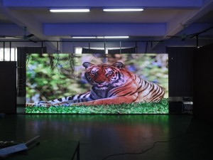 led wall rental display